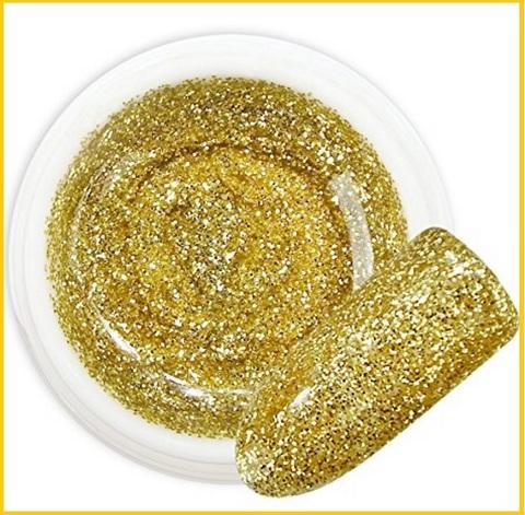 Gel glitter nails art 040
