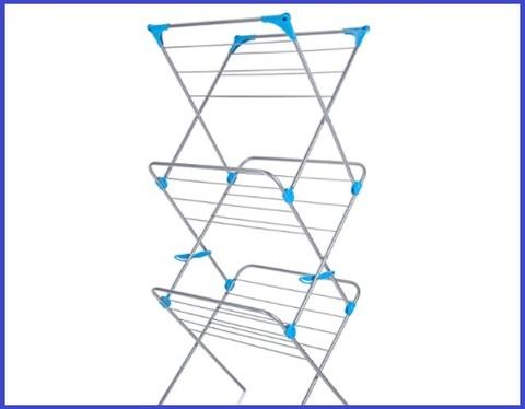 Stendino verticale salvaspazio