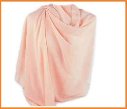 Stola elegante rosa