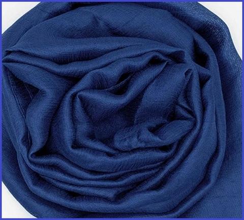 Stola elegante blu