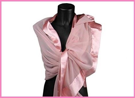 Stole rosa cipria