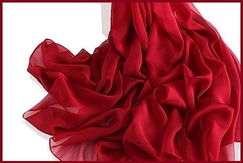 Stole donna elegante rossa