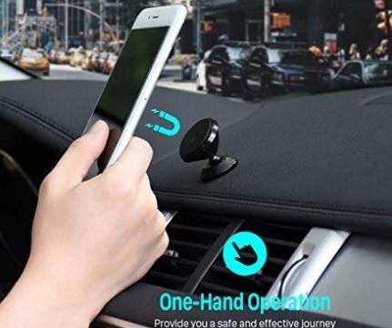 Supporto auto smartphone magnetico 360 gradi
