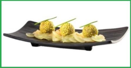 Piattino classico stile ristorante giapponese