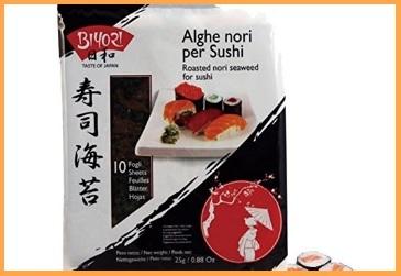 Set Sushi Alghe