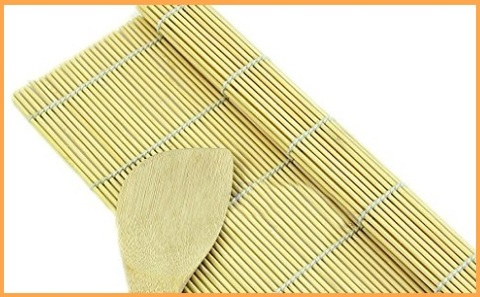 Sushi tappetini bambù