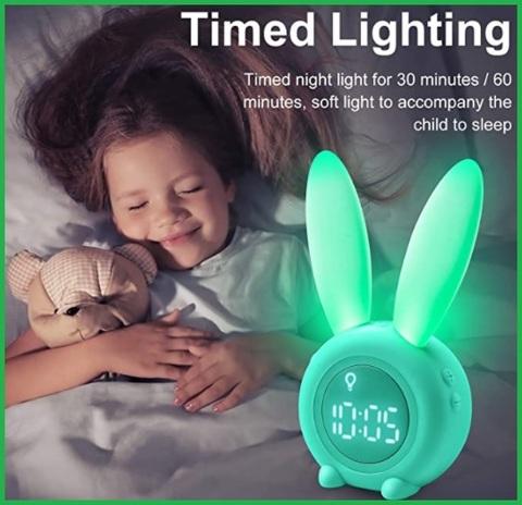 Sveglia Digitale Da Comodino Bambini