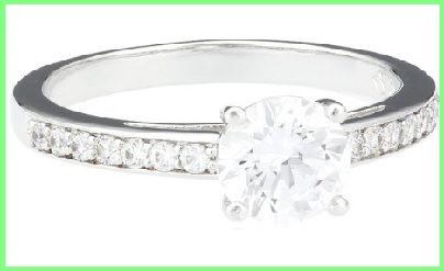 Vendita swarovski online anello con vetro e cristallo