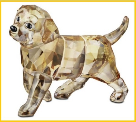 Museo swarovski statuina cane