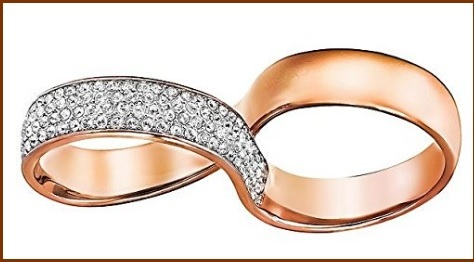 Gioielli swarovski catalogo fashion ring