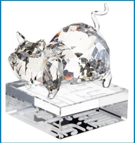 Catalogo sculture in cristallo animali swarovski