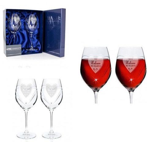 Bicchieri Con Cristallo Swarovski
