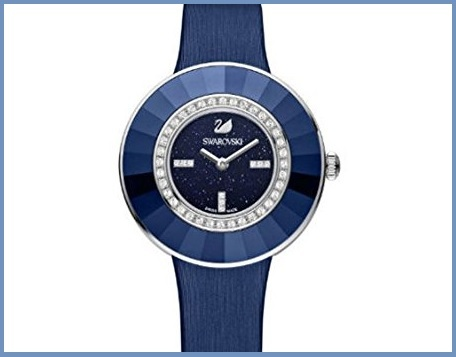 Swarovski orologio dressy blu