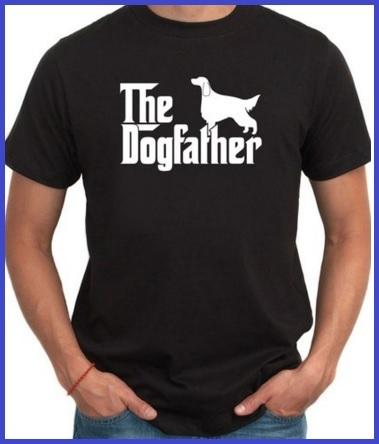 T-shirt uomo divertenti il padrino