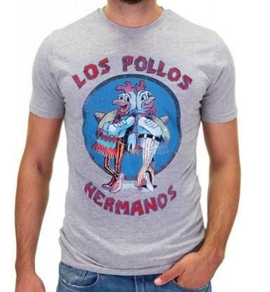 T-shirt uomo vintage los pollos breaking bad