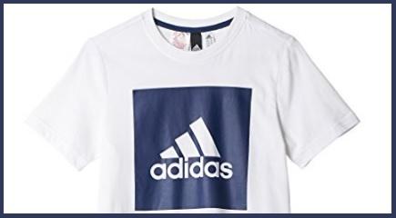T shirt classica adidas bambino