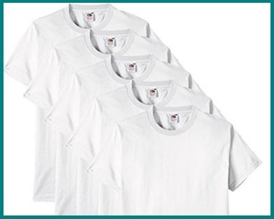 T shirt bianche uomo cotone