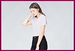 T shirt bianche donna
