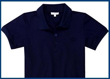 T shirt blu scuro gucci per ragazzo