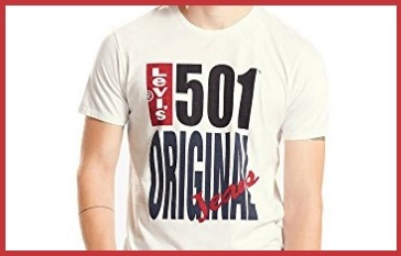 T shirt levis uomo originale