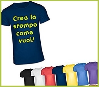 T Shirt Personalizzate Stampa