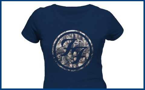 T Shirt Foo Fighters Donna