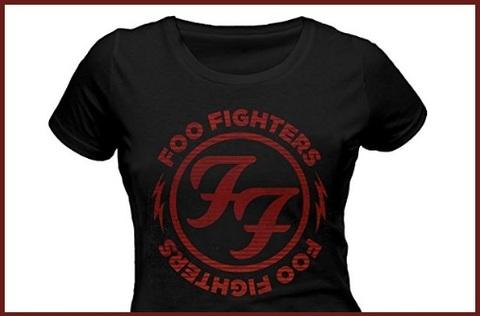 T Shirt Foo Fighters Ladies