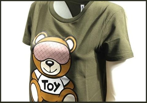 T-shirt moschino donna orso