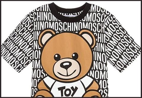 T-shirt moschino bambino