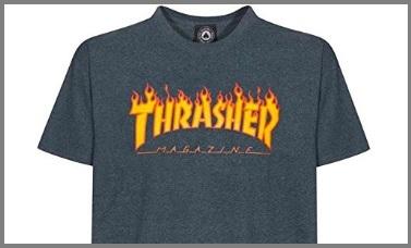 T-shirt thrasher fiamme