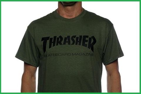 T-shirt thrasher verde