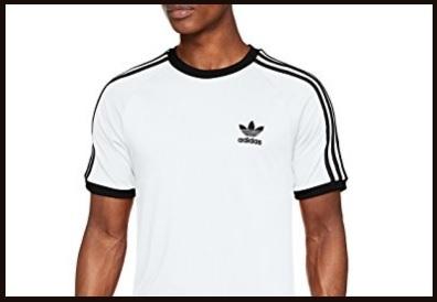 T-shirt adidas 3 stripes uomo