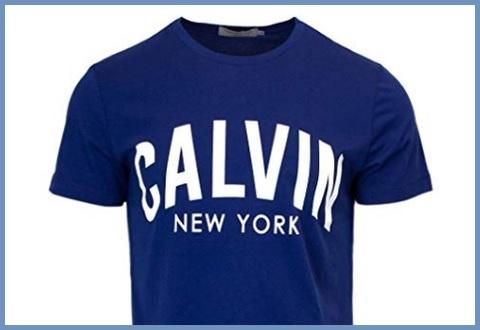 T Shirt Calvin Klein Blu