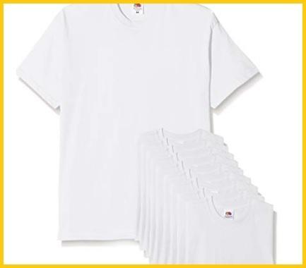 T-shirt bianche stock