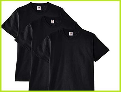 T-shirt nere uomo