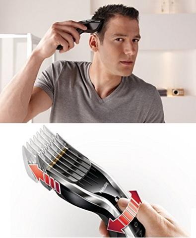 Tagliacapelli uomo professionale con lame in titanio