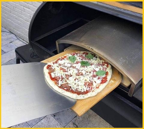 Tagliere legno per pizza con manico