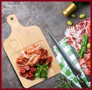 Tagliere pizza in legno