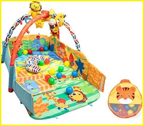Tappeto neonato con giochi