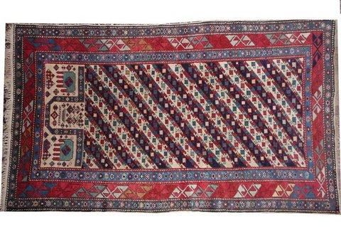 Tappeti kanye caucasico realizzati con lana vergine o cotone