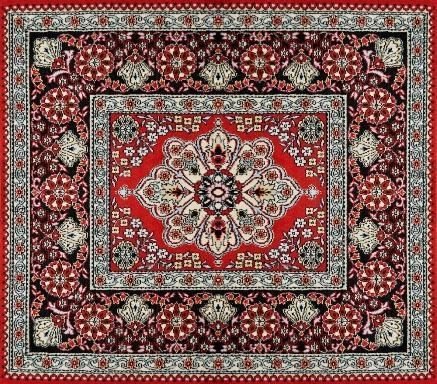 Tappeto afgano dell'asia centrale