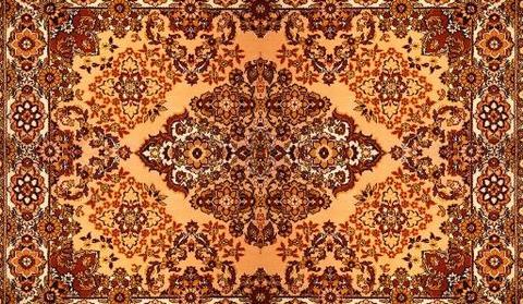 Bukara russo colore dominante rosso