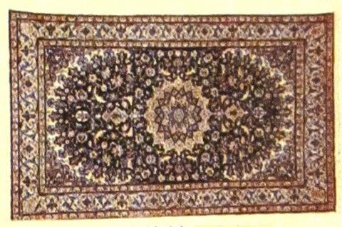 Tappeto persiano nain proveniente dall'iran