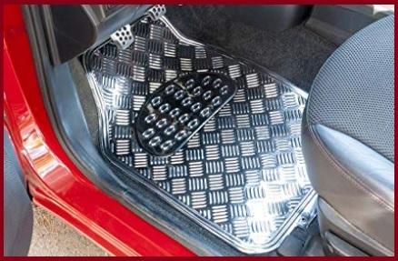 Tappetini auto alluminio