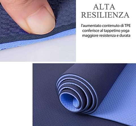 Tappetino fitness spessore 30mm