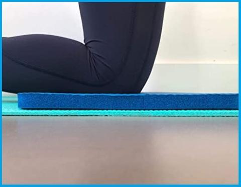 Tappetino per ginocchia e fitness