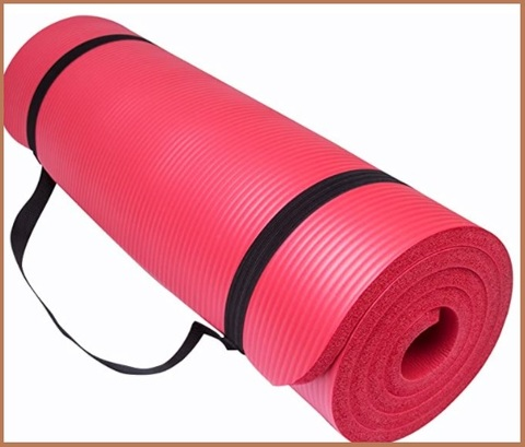 Tappeto rosso fitness