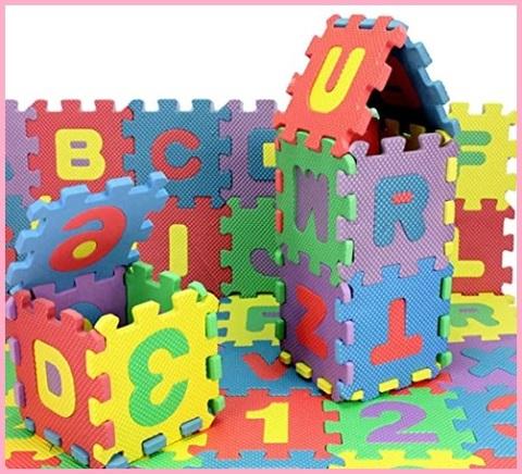 Tappeto puzzle alfabeto