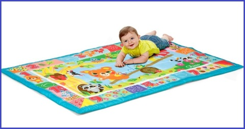 Tappeto colorato bambino