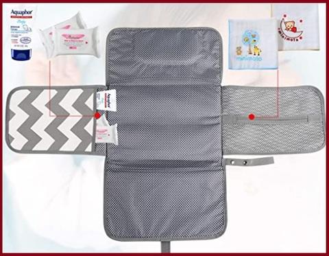 Tappetini neonato fasciatoio con cuscino